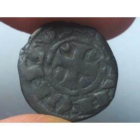 Portugal Rara Moeda Medieval Dinheiro D. Afonso 3º 1248-79