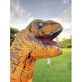 Disfraz Botarga Inflable Dinosaurio Jurasicc T Rex 2018