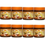 Kit 8 Pasta De 500g Amendomel Integral Cacau