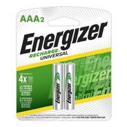 Energizer Recargables Aaa Par