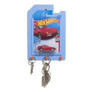 Porta Chaves Hot Wheels E Porta Cartela Escala 1/64