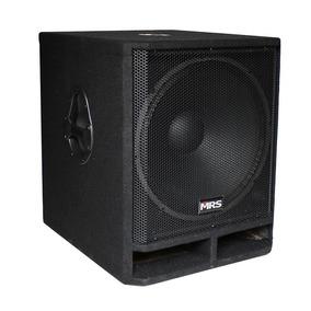 Subwoofer Amplificado Morrison 18 500w Rms Poder
