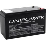 Bateria Unipower Selada 12v 7ah Up1270seg Alarme Nobreaks/up