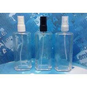 10 Frascos De Vidro De Perfume 100 Ml Válvula Spray