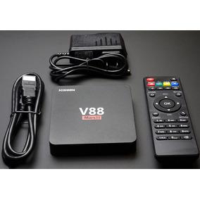 Tv Box V88 Transforme Sua Tv Em Uma Smart Android 6.0