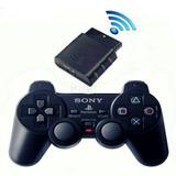 Controle Ps2 Playstation 2 Sony Sem Fio Original Dualshok2