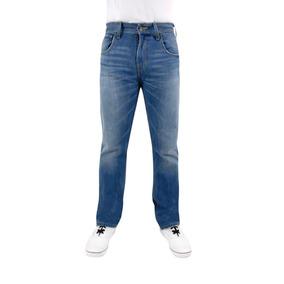 Jeans Breton De Mezclilla Para Caballero. Slim Fit. Bjm006
