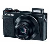 Camara Canon Powershot G9x 20.2 Mp Wi-fi Full Hd Negro Sella