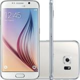 Celular Samsung Galaxy S6 Branco 32gb Android 5.0 4g