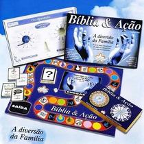 Bíblia E Ação Jogo De Tabuleiro Religioso - Na Embalagem