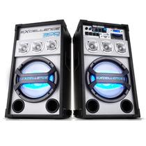 Conjunto De Caixas De Som Amplificadas Nks Excellence Pk-300