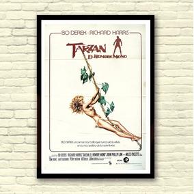 Antigo Poster Cartaz Filme - Tarzan, O Filho Das Selva, 1981