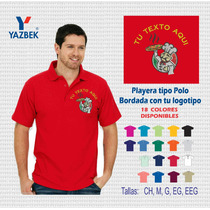 Uniformes Industriales Playera Polo Bordada