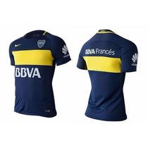 Camisetas Boca Jrs 2017 Nuevas Titular Suplente Y Azul Acero