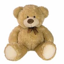 Urso De Pelúcia 73cm Bege - Grande