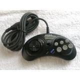 Control Sega Genesis Original Mk-1470 6 Botones Turbo Nuevo