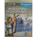 Sport Champions Ps3 - Damos Boleta