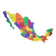 Mapa De México De Foamy Foami Fomi Rompecabezas