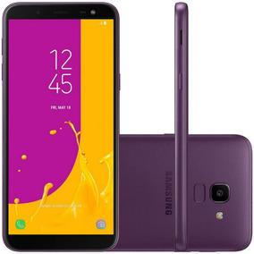 Smartphone Samsung Galaxy J6 Violeta 64gb Tv Digital Tela D