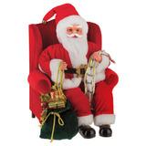 Papai Noel Na Cadeira Com Som