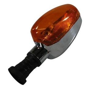 Lanterna Pisca Seta Traseira Universal Para Motos C/ Lampada