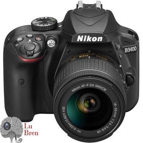 Cámara Reflex Nikon D3400 Vr Kit +lente 18-55mm+memoria 16gb