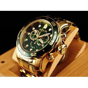 9a8e780684f Relógio Invicta 1774 Banhado A Ouro Novo Importado - Relógios De ...