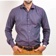 Camisa De Vestir Slim Fit Asombrus Hombres Altos