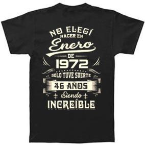 Camiseta Personalizada No Elegi Nacer ,cumpleaños