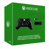 Contro Xbox One Estandar+carga Y Juega Original