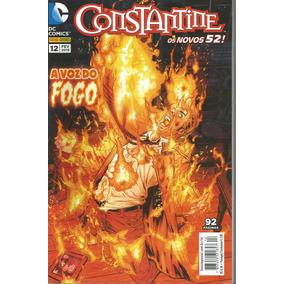 Constantine 12 Novos 52 - Panini - Bonellihq Cx230 D18