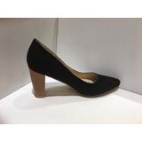 Zapatos Stilettos Taco Madera Última Moda!!