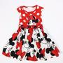 Vestido Infantil Festa Minnie - Pronta Entrega - Menor Preço
