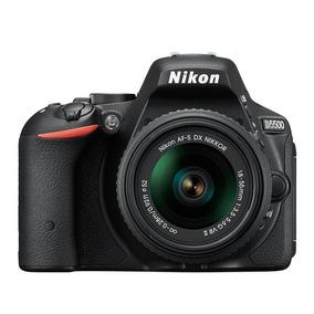 Máquina Fotográfica Nikon Dslr D5500 C/ Lente 18-55mm Preta