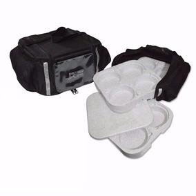 Bag Bolsa Mochila Têrmica De Marmitex Com Isopor 16 Lugares