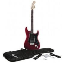 Guitarra Fender Squier Affinity Strat Hss Car + Acessórios