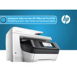 Impresora Hp Todo En Uno Officejet Pro 8720
