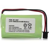 Pila Batería Bt1007 Panasonic Hhr-p506 Uniden Bt1015 Bt904
