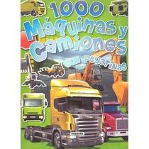 1000 Máquinas Y Camiones (1000 Pegatinas) Equipo Susaeta