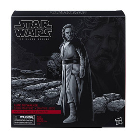 Figura Luke Skywalker Deluxe Hasbro Star Wars Black Series