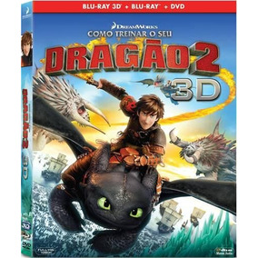 Como Treinar O Seu Dragao 2 - Bluray+dvd+bluray3d