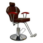 Silla Barberia Sillon Hidraulico Salon Reclinable Estilista