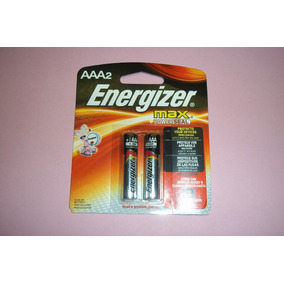 Pilas Energizer Alcalinas Triple Aaa Blister C/2 Unidades