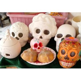 Figura .:: Día De Muertos Calaveras ::.33 C/pza S/pintar