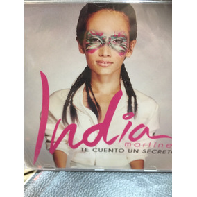 India Martínez Te Cuento Un Secreto Cd