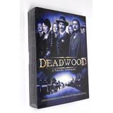 Box Set Deadwood 2007 A Terceira Temporada Hbo Dvd Lacrado