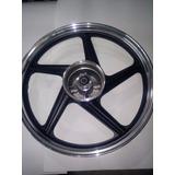 Llanta Trasera Rx 150 - 200 Gris Aluminio Negra- Motos 10700