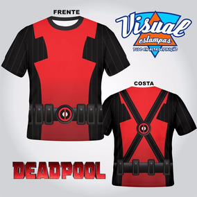 Camiseta 3d Marvel X-men Deadpool
