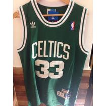 Camiseta Musculosa Nba Basquet Boston Celtics Bird Retro