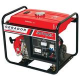 Gerador A Gasolina Mg 3000 Partida Elétrica 110/220v Motomil